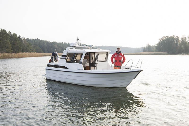 Strömma Gård Taxibåt tjänst ms Marianne