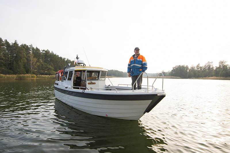 Strömma Gård Taxibåt tjänst ms mira